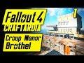 Fallout 4 Croup Manor Brothel #1 - Base Building Timelapse - Fallout 4 Settlement Building [PC]