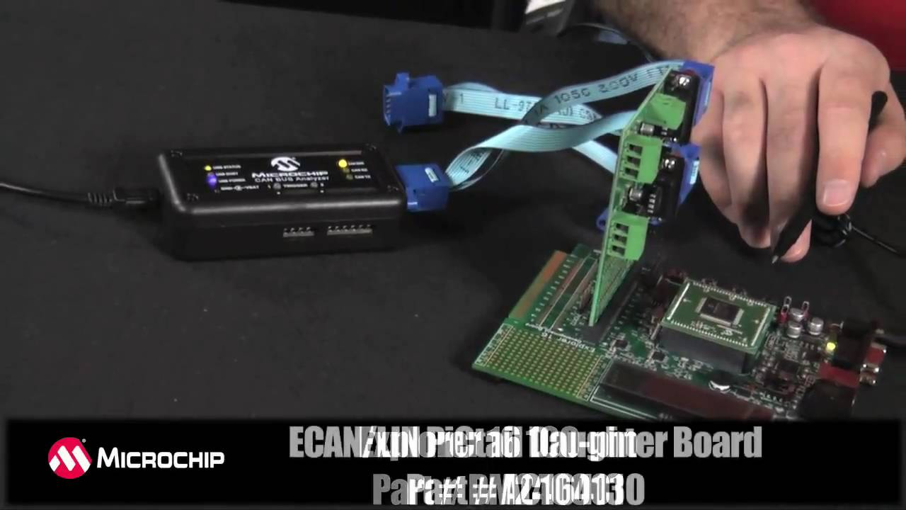 Microchip Can Bus Analyzer Demonstration Youtube Volvo Wiring Diagram