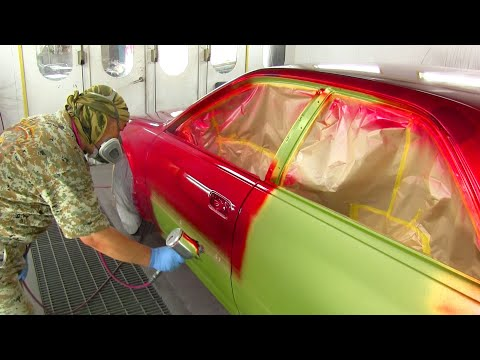 How to Custom Paint The Magic Candy Paint / Candy Painting Ideas / Unprecedented Pigment / カスタムペイント