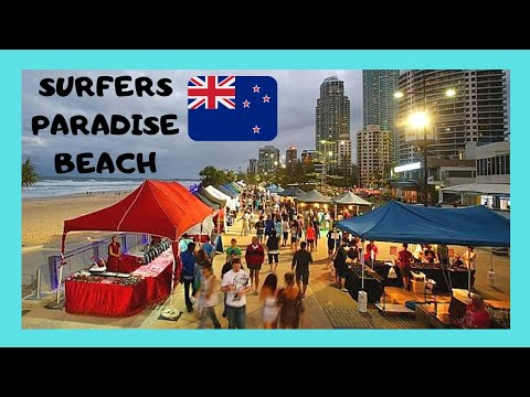 AUSTRALIA, the beautiful Gold Coast and the Friday Night Markets (Queensland)