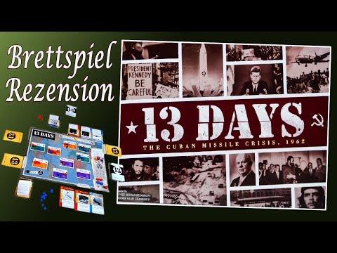13 Days The Cuban Missile Crisis  Brettspiel Rezension (13 Tage – Die Kubakrise 1962)