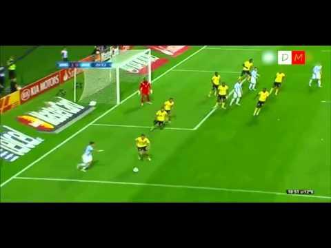 Rabona de Rojo - Argentina 1 Jamaica 0 - Copa America 2015 - HD