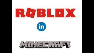 Roblox In Minecraft [Mine-Imator Animationen]
