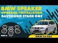 BMW Speaker Upgrade/Installation | X3 E83 | BAVSOUND Stage One | Part 2