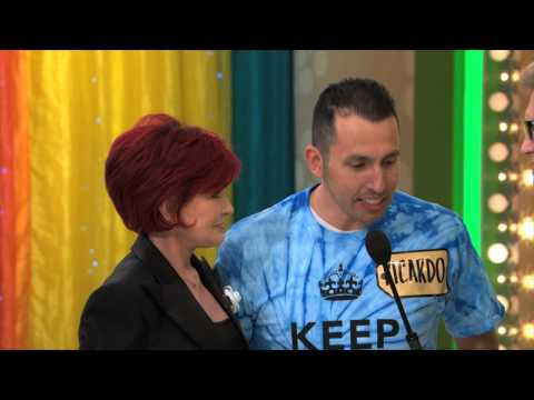 The Price Is Right - Sharon Osbourne - Grand Game