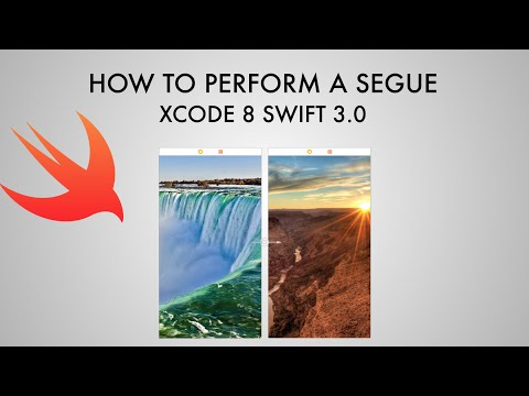 How To Trigger A Segue In xCode 8 (Swift 3.0)