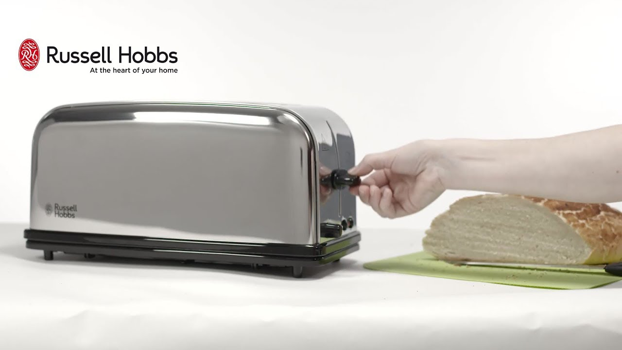 e2dc2cc3d Тостер Russell Hobbs 23520-56 Chester - YouTube