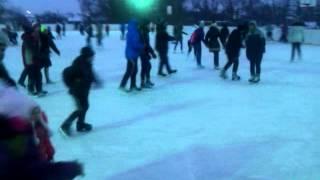 Ледовый каток в Судже. Зима 2014.