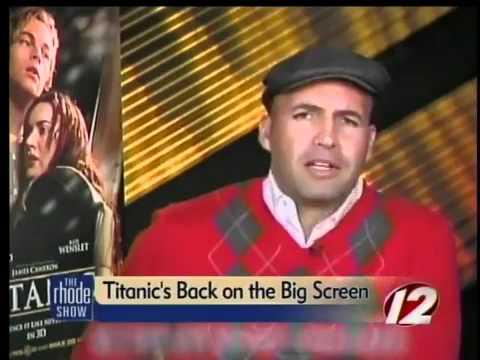 Billy Zane talks Titanic 3D - YouTube