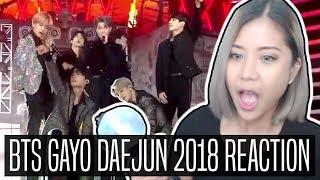 BTS 방탄소년단  GAYO DAEJUN 2018 REACTION | FULL PERF 가요대전
