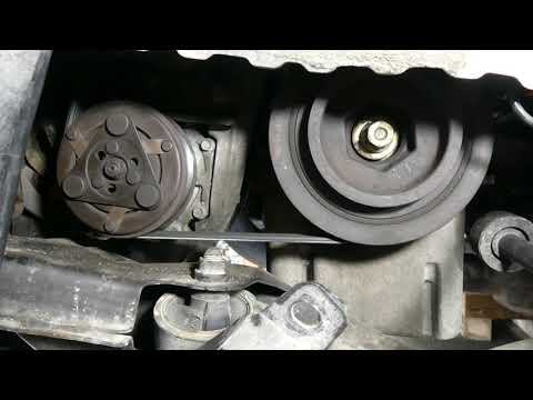 2004 Honda Civic crankshaft position sensor replacement