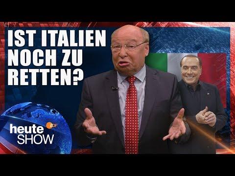Gernot Hassknecht über die derzeitige Situation in Italien | heute-show vom 25.05.2018