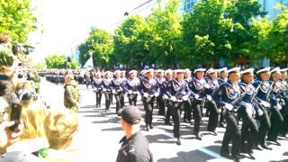 9 мая 2015 Севастополь,парад(Парад Севастополь 9 мая 2015танки люди байкера победа Нахимова., 2015-05-09T12:52:56.000Z)
