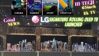 LG SIGNATURE OLED ROLLABLE TV …