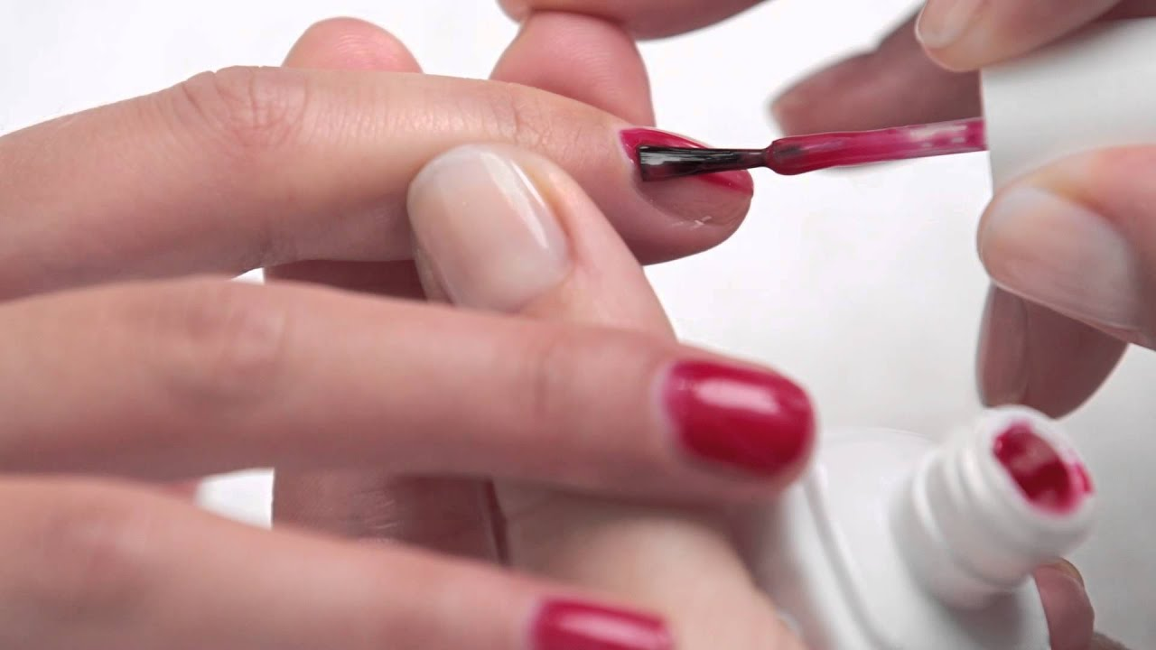 Professional Essie Gel application. - YouTube
