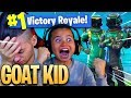 Download NO WAY! *NEW* SKIN MADE MY 9 YEAR OLD BROTHER UNSTOPPABLE IN FORTNITE BATTLE ROYALE! HE EXPOSED ME!?