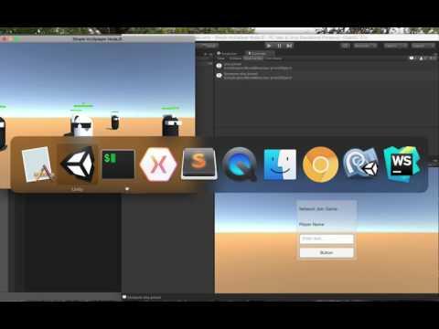 Unity 5 Multiplayer Networking Node JS socket.io Pt14