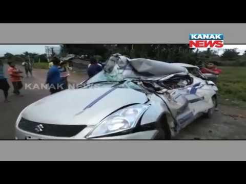 Truck Hits Car In Cuttack, Three Die