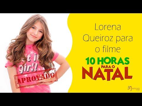 JOB: Lorena Queiroz para o fime 10 HORAS PARA O NATAL