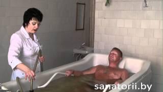 Санаторий Алеся - душ-массаж подводный, Санатории Беларуси