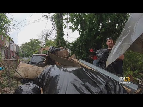 Andi and Kenny - Daily Do Good: Over 170 Volunteers Work To Clean Up West Baltimore