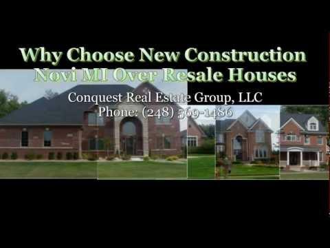 Why Choose New Construction Novi MI Over Resale Houses