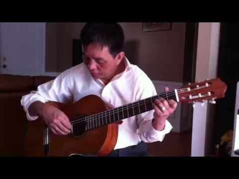 Tu Hoc Guitar :Hoài cảm-chủ âm Dm-điệu boston