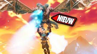 🔴 DRAGON TAMED IN FORTNITE RAGNAROK?! | Fortnite LIVE Battle Royale (Fortnite NL)