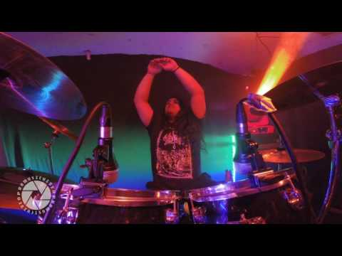 ATOMIC AGGRESSOR Alvaro Llanquitruf - New York Full Set (Drumcam)
