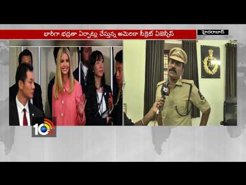 Face to Face with South Zone Dpt Commissioner Satyanarayana Over Ivanka Trump Tour | Hyd | 10TV