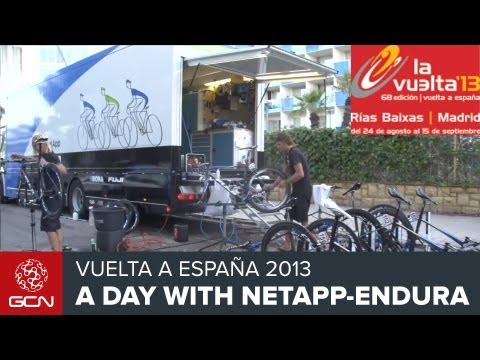 Pro Cycling - A Day At The Races With NetApp-Endura At The 2013 Vuelta A España