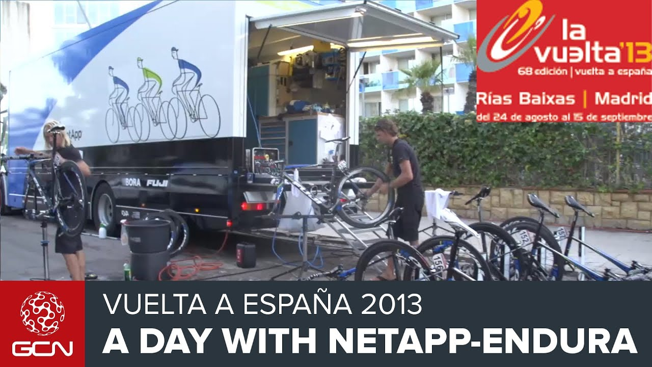 05681ace5 Pro Cycling - A Day At The Races With NetApp-Endura At The 2013 Vuelta A  España