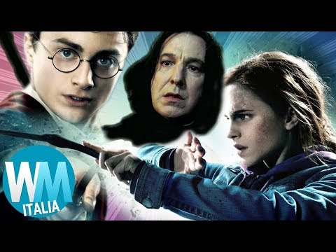 Top 10 INCANTESIMI PIÙ BELLI in HARRY POTTER!