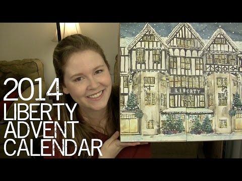 2014 Liberty Advent Calendar Youtube