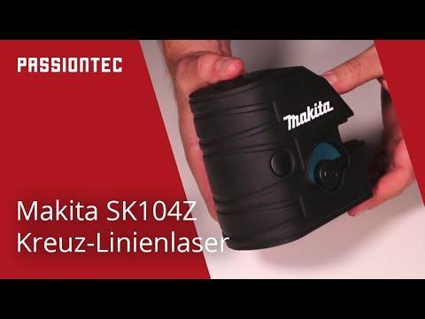 Makita sk104z kreuzlinienlaser deutsch youtube