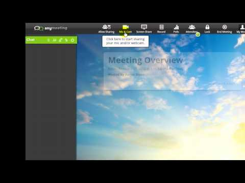 AnyMeeting for Web Meeting & Conferencing from YouTube · Duration:  4 minutes 44 seconds