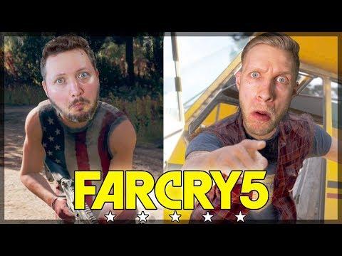 I USA MED COMKEAN! - Dansk Far Cry 5 (PS4 Pro) #1
