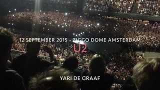 Video U2 - 12 september 2015  - Ziggo Dome, Amsterdam (Compilatie) download MP3, 3GP, MP4, WEBM, AVI, FLV Juli 2018