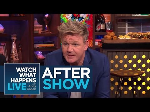After Show: Gordon Ramsay Attacks Andy Cohen | WWHL