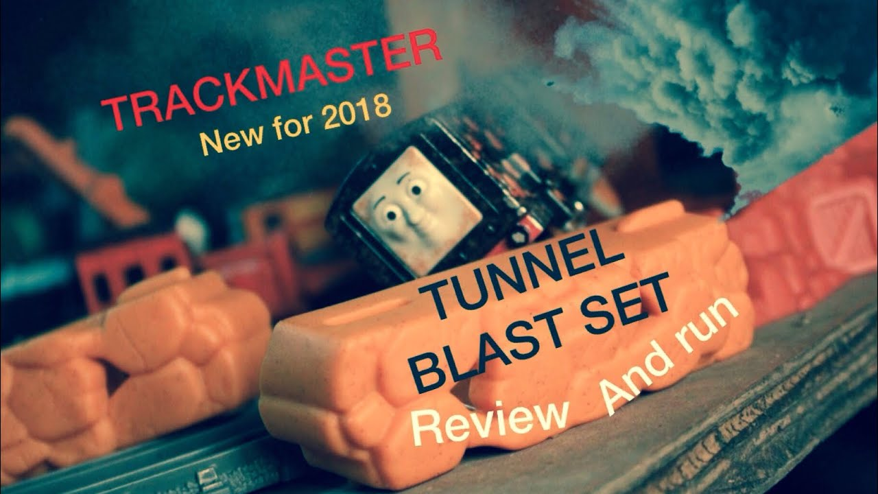 1db5457f103 Thomas and Friends TRACKMASTER TUNNEL BLAST SET TOY REVIEW - YouTube