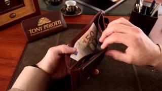 Кожаное портмоне мужское коричневое Tony Perotti Just 1656 A(Вы можете купить кожаное портмоне мужское коричневое Tony Perotti Just 1656 A по ссылке: http://wallet.ua/catalog/Purses/Wallets/leather_purse_..., 2015-11-20T08:58:55.000Z)