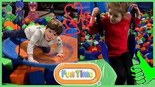 Chloe And Jason Having Fun Time Music Pool Soccer Educational Kids