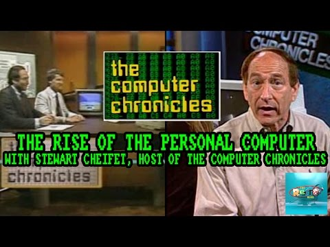Computer Chronicles host Stewart Cheifet - The Retro Hour EP46