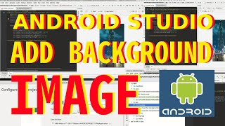 Android Studio التدريب: كيفية إضافة صورة خلفية في Android Studio