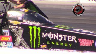 2017 NHRA Toyota Nationals @ LVMS (Part 27 - Top Fuel Dragster Round 1 Eliminations)