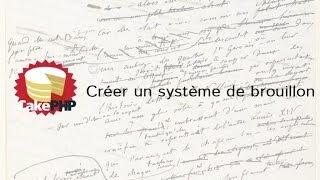 Tutoriel CakePHP - Créer un système de Brouillons