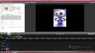 1 видеоурок по Camtasia Studio 8|Как сделать бегущую строку