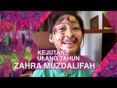 Kejutan Ulang Tahun Zahra Muzdalifah