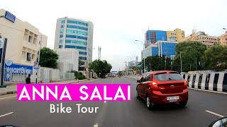 Driving in the Heart of Chennai   Anna Salai   Saidapet to Gemini Flyover