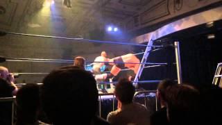 Pro Wrestling Table Break In Super Slow-mo (240fps)